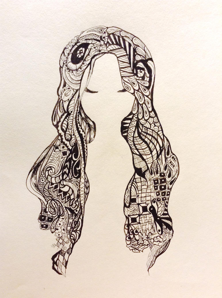 Messy hair by Lemonthrower