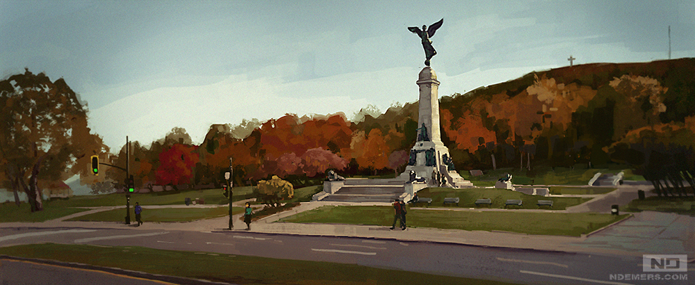 Mont Royal by ndemers