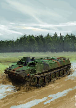 Armoured personnel carrier MLTB