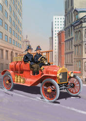 Fire Engine, 100 years ago