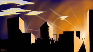 Calm City Skyline