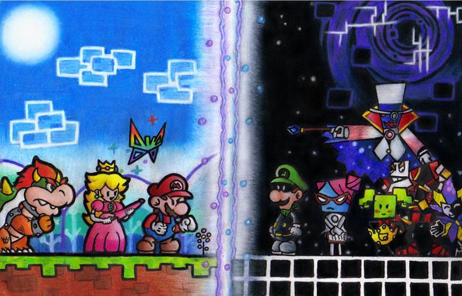Super Paper Mario by aka-Best on DeviantArt