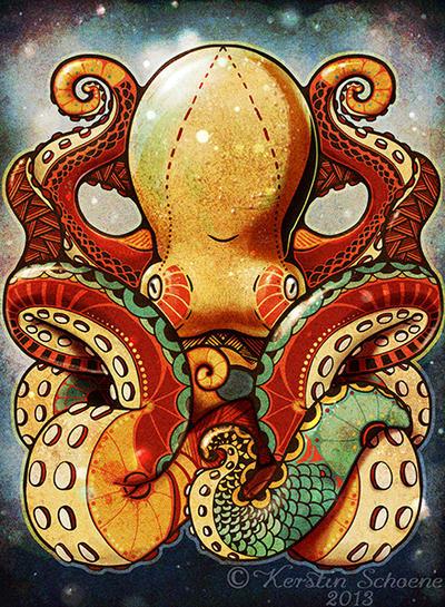 sea monster by KerstinS