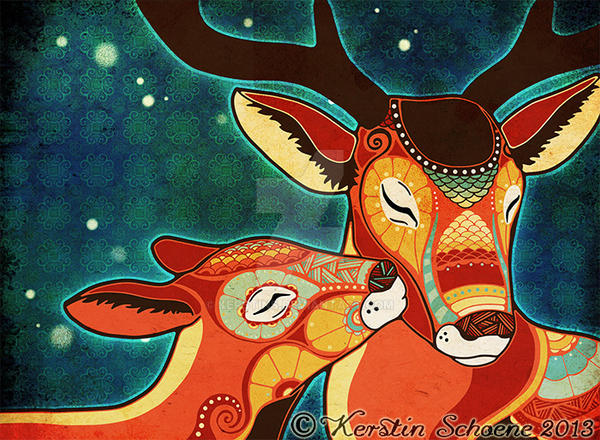 my dear deer by KerstinS