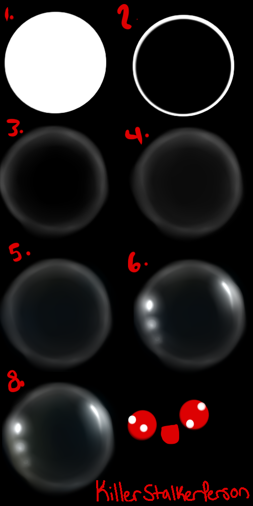 Bubble Tutorial :SAI: by KillerStalkerPerson