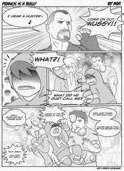Left 4 Dead:Francis is a Bully by ashcomics