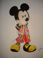 King Mickey Colored by kure-chanih