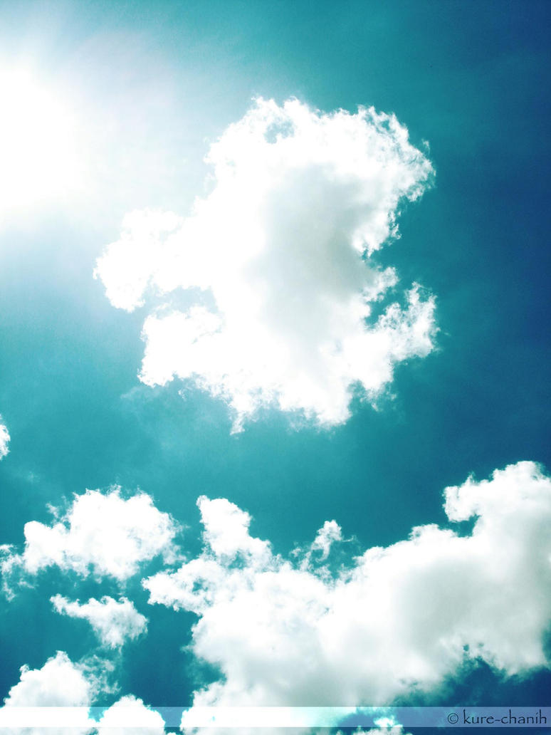 Blue skies and sunshine by kure-chanih