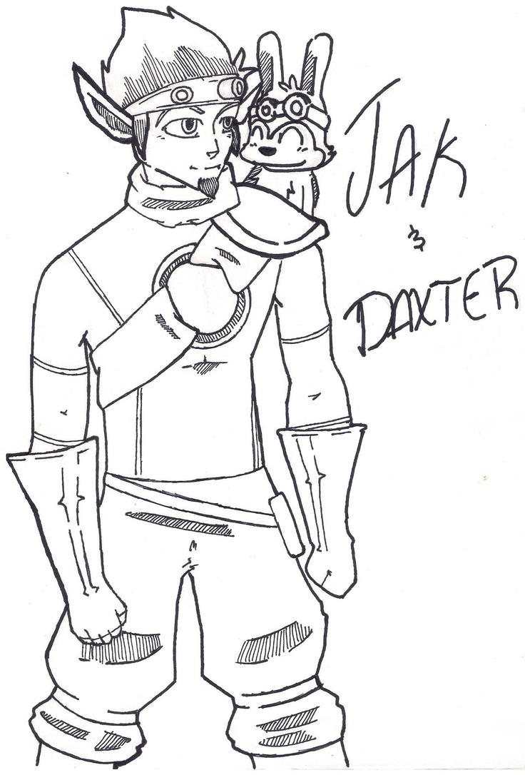 Jak and Daxter by NightBunny3393 on DeviantArt