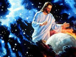 jesus space and earth