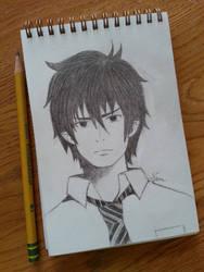 Rin Okumura Sketch