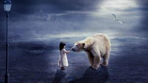 Child  White Bear