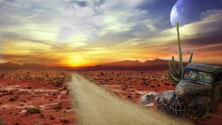Desert Road by toosox