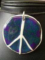 Glow in the Dark Peace Sign