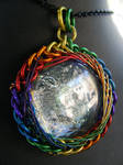 rainbow fractal wrap