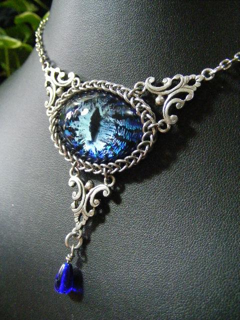Water Eye In Steel by BacktoEarthCreations