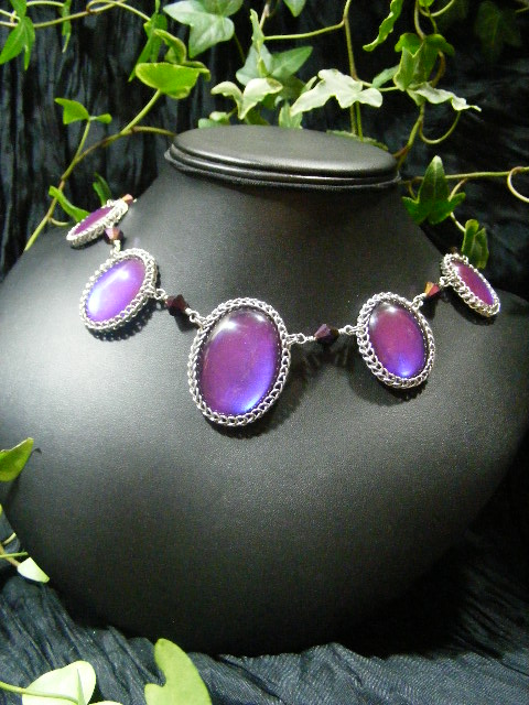 5 Cab Persian Bauble Necklace by BacktoEarthCreations