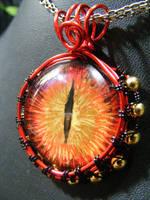 Eye of Sauron pendant