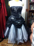 Modified Formal gown by BacktoEarthCreations