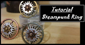 Spinning Gears Adjustable Ring Tutorial by BacktoEarthCreations