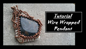 Custom Piertsite Wire Woven Pendant by BacktoEarthCreations