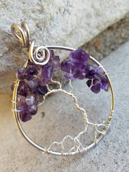 Amethyst Tree of Life by BacktoEarthCreations