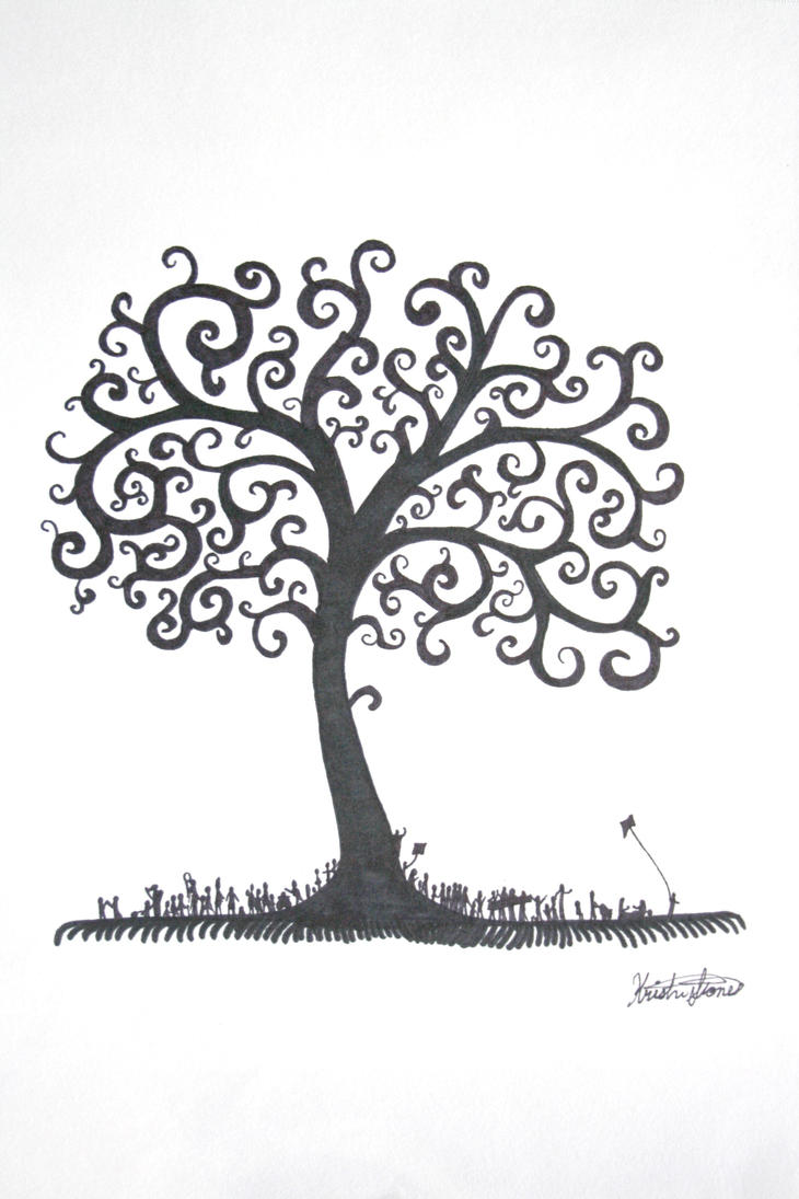 Easy Drawing Tree Of Life Www Picsbud Com