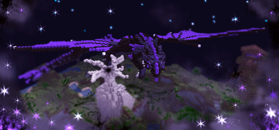 Rise Of The Enderdragon By Kanoro Studio