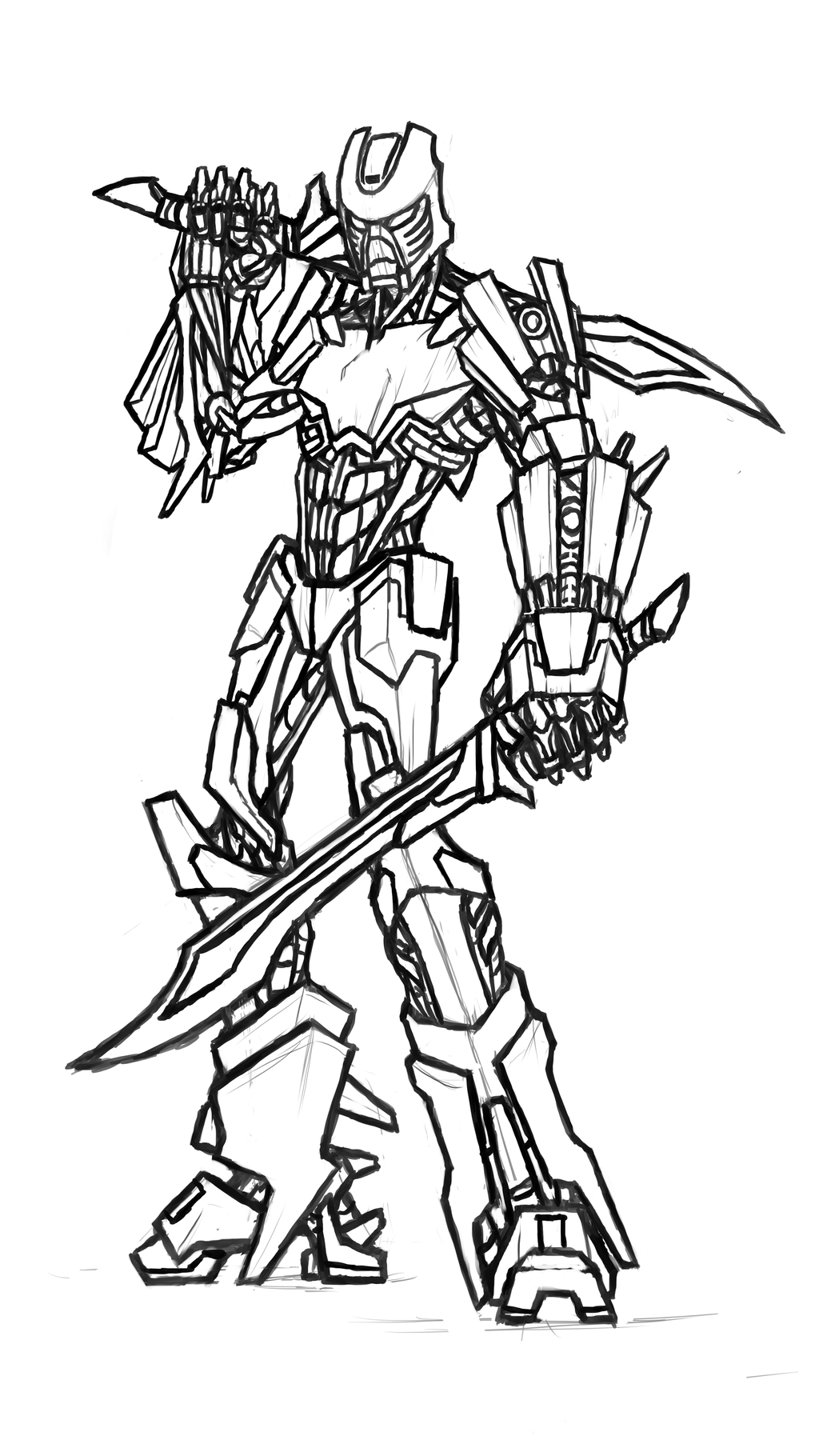 tahu 2015 bionicle lineart by kanoro studio on deviantart