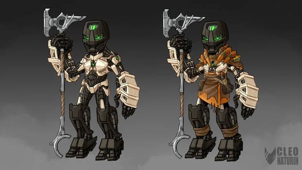 Bionicle Week 5 Art Challenge - Kholii Matoran