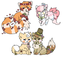 Soosh Chibis Batch 11 by LuminousRainfall