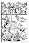Scifi - Commission page 2 Lineart