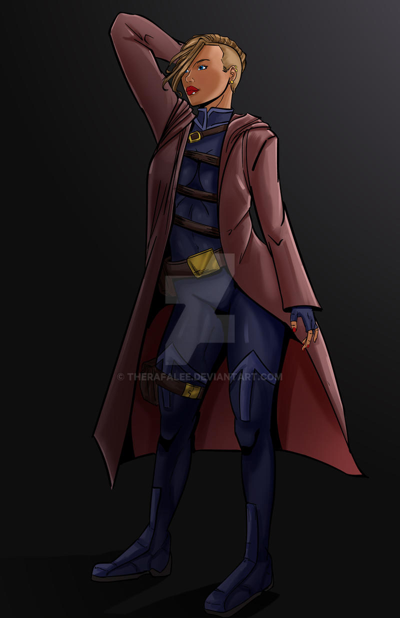 Character Concept Arletta by TheRafaLee