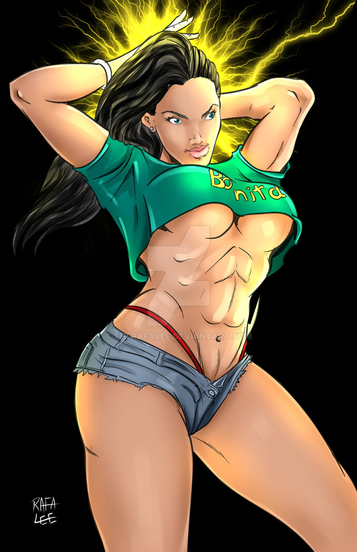 Laura Matsuda - $20 Commission by TheRafaLee