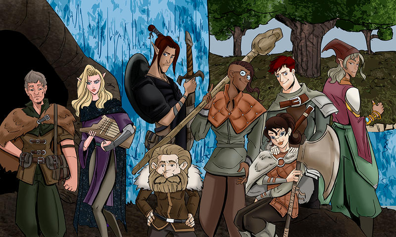 The Company of the White Hart - Commission by TheRafaLee