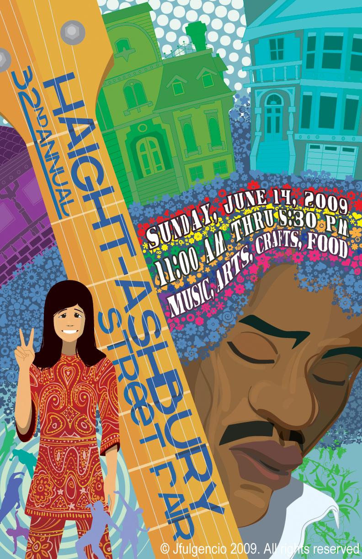 Haight Ashbury Street Fair by JFulgencio