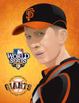 BUSTER POSEY World Series 2010