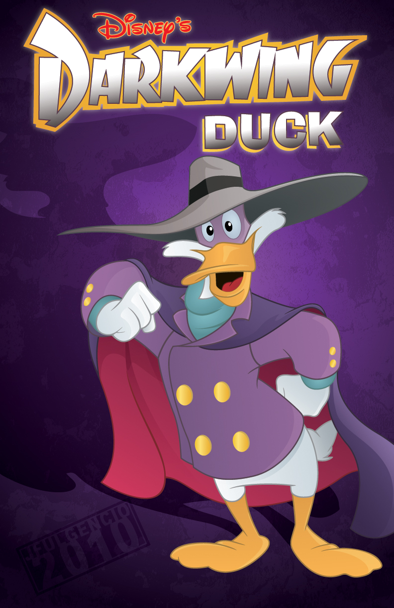 darkwing duck by jfulgencio on deviantart