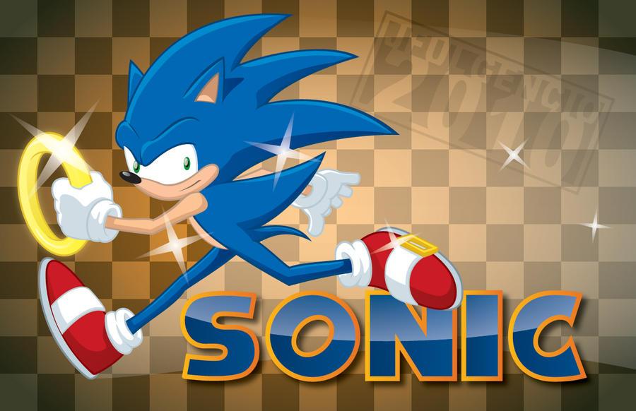 Sonic the Hedgehog by JFulgencio
