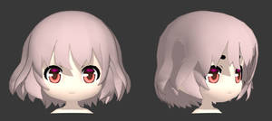 [WIP] SD Character 3D model by Hitsuki23