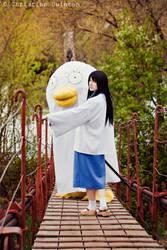 leaving: Katsura and Elisabeth by OrdinaryOrganika
