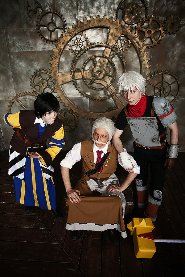 Zulf, Ruck and Kid by OrdinaryOrganika