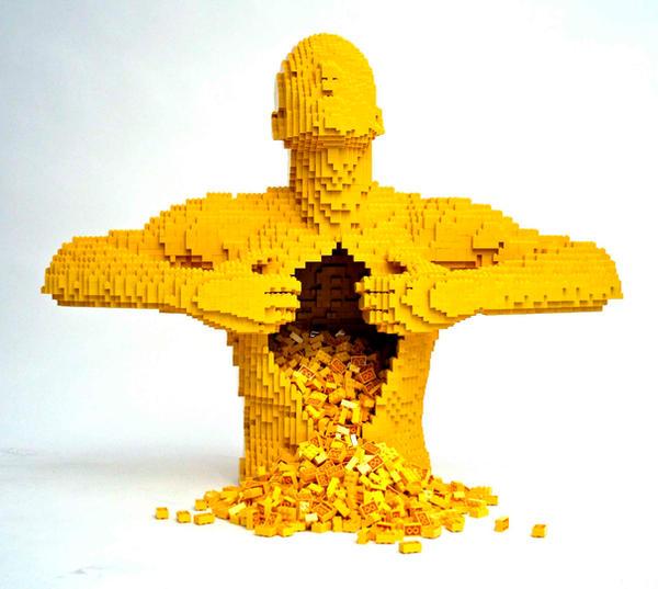 Lego OpenedMan by jirachi155
