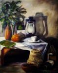 Still Life Acrylic Painting ii