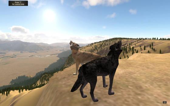 WolfQuest- Shiloh and Kodiack