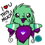 Toki loves you this much