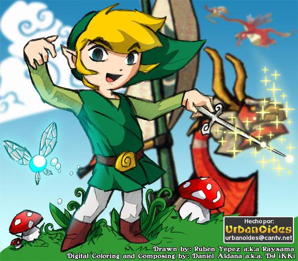 Zelda, the Windwaker by Daneeh