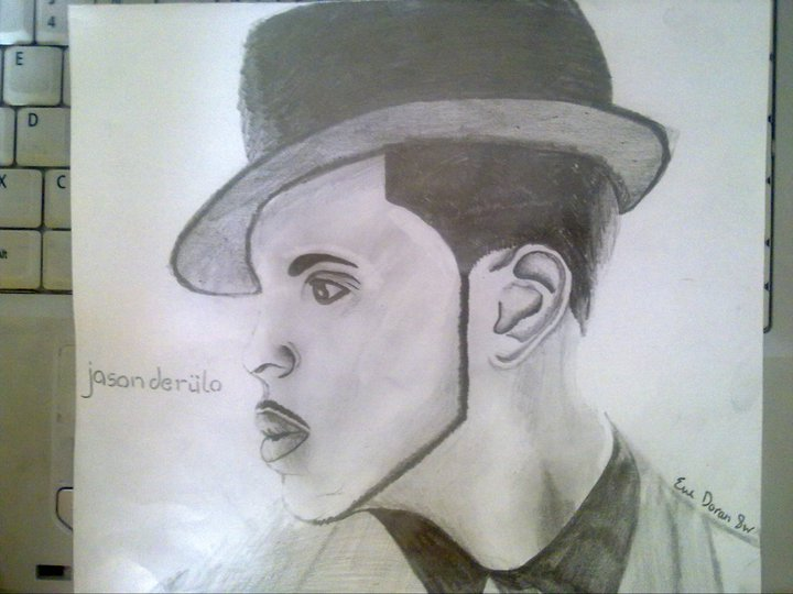 Jason Derulo Drawing by Eveeee3 on DeviantArt