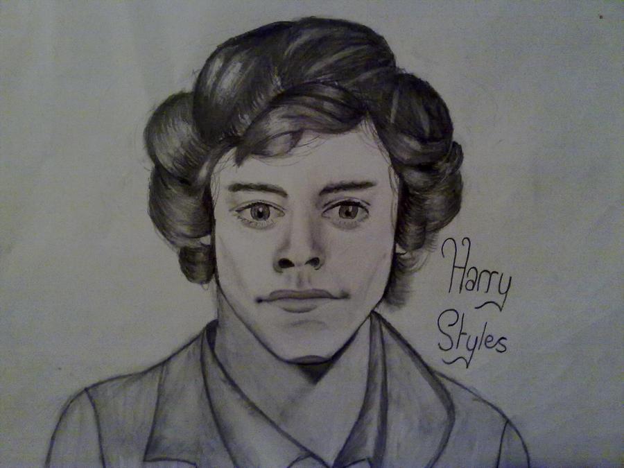 Harry Styles Drawing by Eveeee3 on DeviantArt