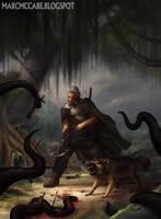 Swamp Hunter by Malakuko